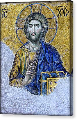 Christ Pantocrator II Canvas Print by Stephen Stookey