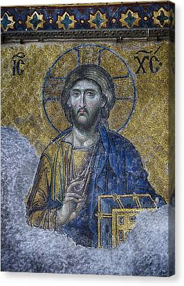Christ Pantocrator IIi Canvas Print by Stephen Stookey