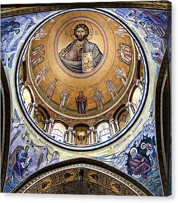 Christ Pantocrator -- No.5 Canvas Print by Stephen Stookey