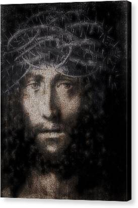 Christ Suffering Canvas Print by Daniel Hagerman