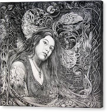 Christan Portrait Canvas Print by Otto Rapp