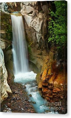 Christine Falls Canvas Print by Inge Johnsson