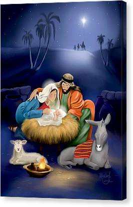 Christmas 2013 Canvas Print by Renee Ciufo