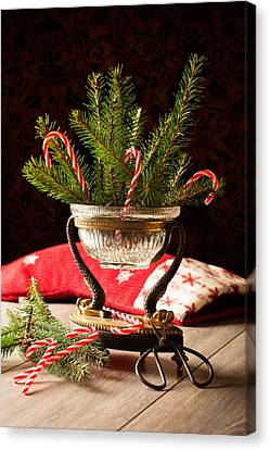 Christmas Decoration Canvas Print by Amanda And Christopher Elwell