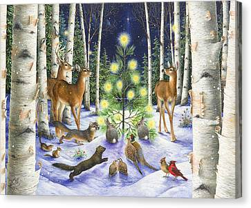 Christmas Magic Canvas Print by Lynn Bywaters