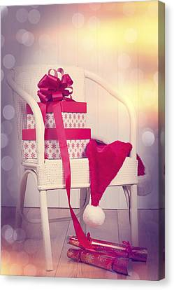 Christmas Presents Canvas Print by Amanda Elwell