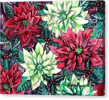 Christmas Splendor Canvas Print by Shana Rowe Jackson