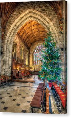Christmas Tree Canvas Print by Adrian Evans