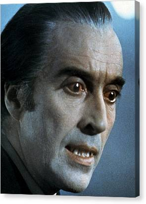 Christopher Lee In Scars Of Dracula  Canvas Print by Silver Screen