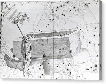 Christ's Sepulchre Constellation Canvas Print by Royal Astronomical Society