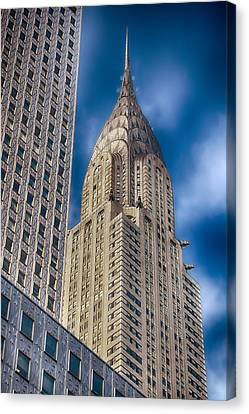 Chrysler Building Canvas Print by Joann Vitali