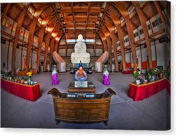 Chuang Yen Buddhist Monastery Canvas Print by Susan Candelario