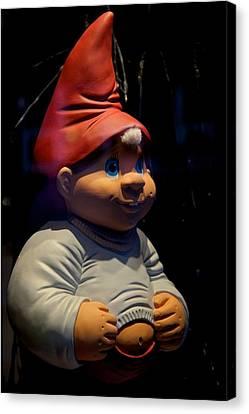 Chubby Elf Canvas Print by Odd Jeppesen