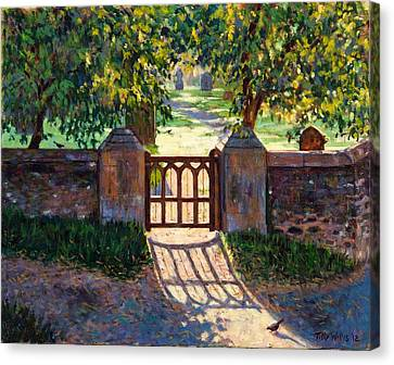 Church Gate Canvas Print by Tilly Willis