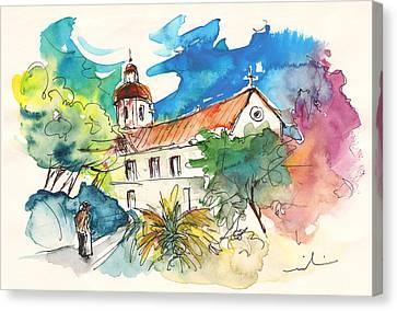Church In Castro Marim In Portugal Canvas Print by Miki De Goodaboom