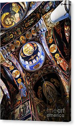 Church Interior Canvas Print by Elena Elisseeva