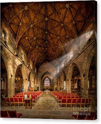 Church Light Canvas Print by Adrian Evans
