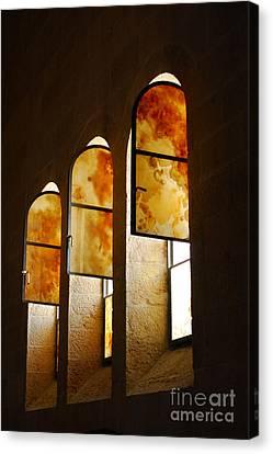 Church Of Heptapegon In Israel Canvas Print by Eva Kaufman