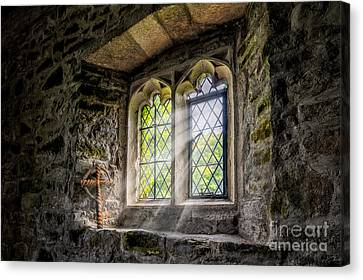 Church Of Light Canvas Print by Adrian Evans