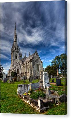 Church Of Marble Canvas Print by Adrian Evans