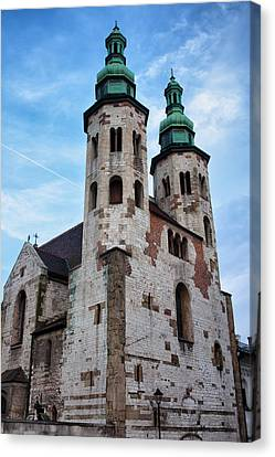 Church Of St. Andrew In Krakow Canvas Print by Artur Bogacki