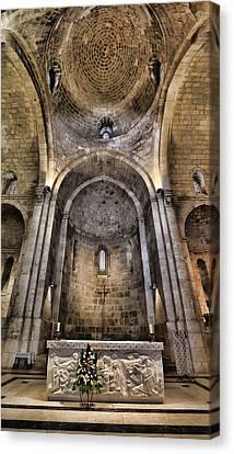 Church Of St. Anne - Jerusalem Canvas Print by Stephen Stookey