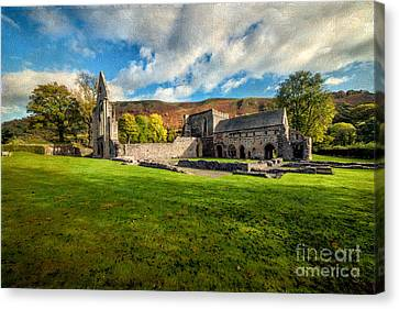 Church Of The Blessed Virgin Mary Canvas Print by Adrian Evans