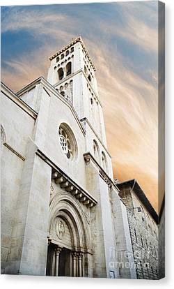 Church Of The Redeemer In Jerusalem Canvas Print by Jelena Jovanovic