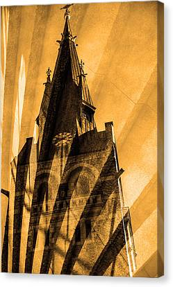 Church Canvas Print by Toppart Sweden