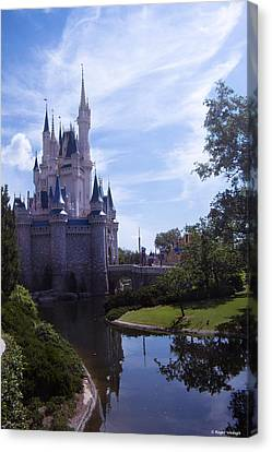 Cinderella Castle Canvas Print by Roger Wedegis