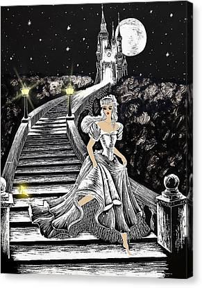 Cinderella Canvas Print by Svetlana Sewell