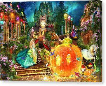 Cinderella Variant 1 Canvas Print by Aimee Stewart