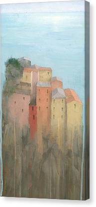 Cinque Terre Canvas Print by Steve Mitchell