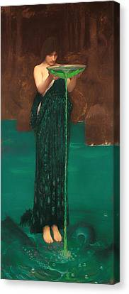 Circe Invidiosa  Canvas Print by Mountain Dreams