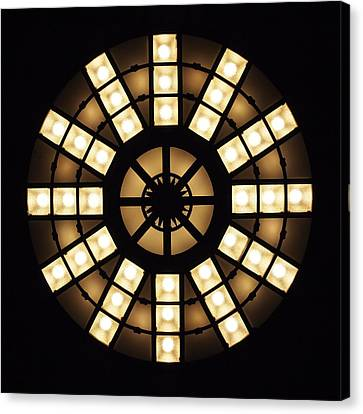 Circle In A Square Canvas Print by Rona Black