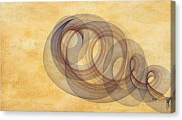 Circle Of Life Canvas Print by Marian Palucci-Lonzetta