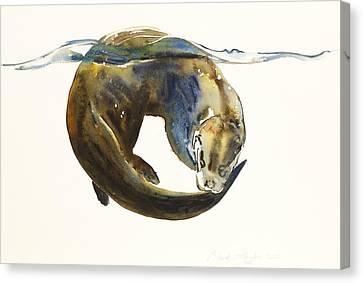 Circle Of Life Canvas Print by Mark Adlington