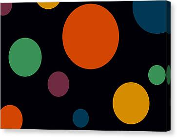 Circles 2 Canvas Print by Chastity Hoff