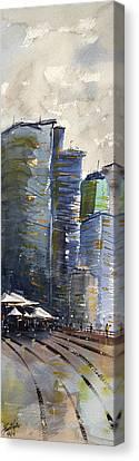 Circular Quay 1 Canvas Print by James Nyika