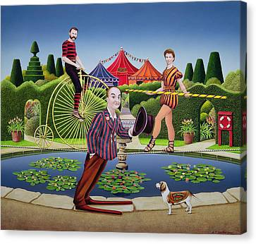 Circus Performers Canvas Print by Anthony Southcombe