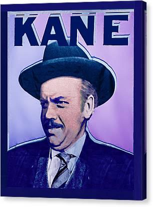 Citizen Kane Orson Welles Campaign Poster Canvas Print by Tony Rubino