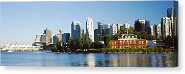 City At The Waterfront, Vancouver Canvas Print by Panoramic Images