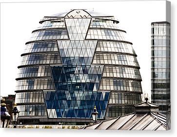 City Hall London Canvas Print by Christi Kraft