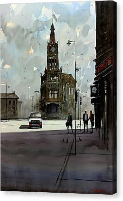 City Hall - Milwaukee Canvas Print by Ryan Radke