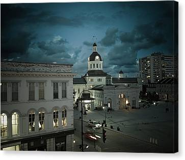 City Hall Canvas Print by Tracy-Lyn Hausen