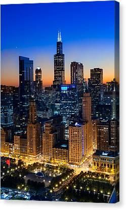 City Light Chicago Canvas Print by Steve Gadomski