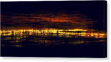 City Lights Canvas Print by Lonnie Christopher