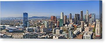 City Of Angels Canvas Print by Kelley King