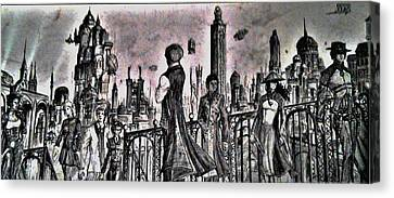 City Of Babel  Canvas Print by George Harrison
