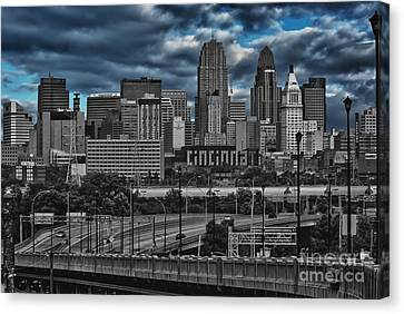 City Of Color Canvas Print by Steve Johnson